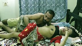 Indian Low-spirited Bhabhi First Time eon Sex Nearly Transalpine Man